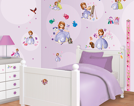 Sofia the First Room Decor Kit (75 buc)